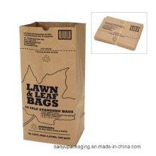 Bolsa de reciclaje de papel Kraft para el hogar o la comunidad