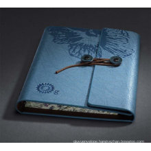 Leather Spiral Notebook for Company Gifts