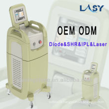 IPL and RF professional beauty laser machine for Remove facial vascular lesions