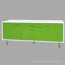 Шкаф высокий глянец и подставка (10309 - 1)