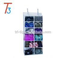 12 pockets hanging over door handbag wall pocket storage organizer