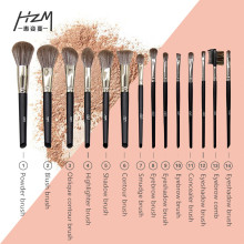 14Goat Hair Makeup Brush Sets met eenhoorn make-upborstels