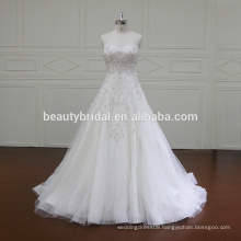XF5874 High quality latest dress designs photos wedding dress luxury beading bridal dress