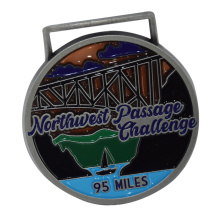 Customized to be a high quality supplier of metal paint relief medal marathon competition Medal