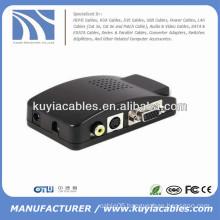 Converter AV to VGA for LCD,Monitor