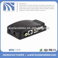 Конвертер AV для VGA для ЖК-монитора