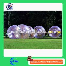 Bola inflable hermosa hermosa del zorb de la tierra con el precio resonable para la diversión