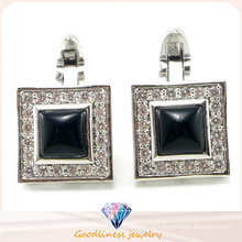 Men's Fashion Jewelry Charm 925 Bijoux en argent sterling boutons de manchette (A11C001)