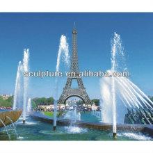 Shengfa-parque de acero inoxidable Escultura / fuente de agua de metal