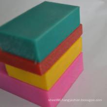 0.92-0.98g/cm3 Density Green Pink Yellow Red PE Sheet