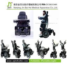 Cadeira de rodas elétrica de luxo elétrica para deficientes