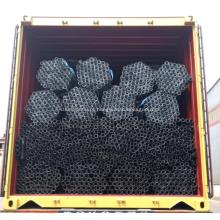 tubos de aço galvanizado preto tubos seções ocas