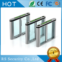 RS485 Interface Turnstiles Retractable Speed Gate Systems