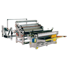 Monolayer corrugated board making machine