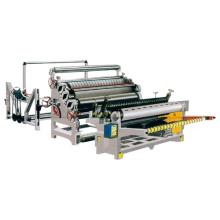 Machine de fabrication de panneaux en tôle ondulée Monocouche