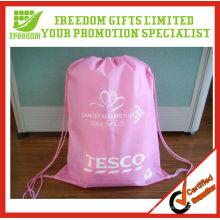 Customized Top Quality Logo Printed Cheap Drawstring Bag