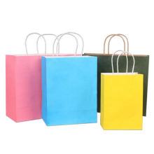 Customized logo reusable recycled logo printing coated paper bag with factory price