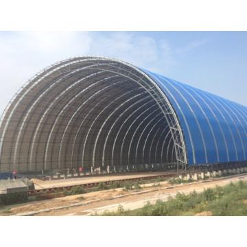 Leichter Stahl verschraubter Ball Space Frame Barrel Kohle Lagerung