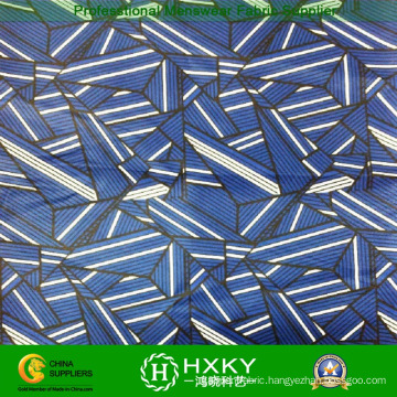 Geometric Design with Printed Polyester Chiffon Fabric for Ladies Fashion