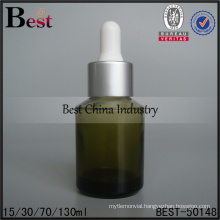cosmetic essence glasflasche 15ml 30ml glass bottle with dropper in stock