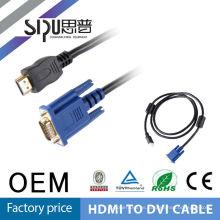 SIPUO hdmi a dvi con precio de mayorista de adaptador de audio de 3,5 mm