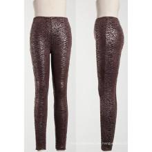 2013 Leggings Fashion, PU Leder Look Leggings für Mode Frauen