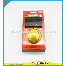 Novelty Design Kid's Toy Yellow Stripe Wrist Hi Rubber Bounce Ball