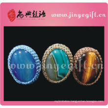 China Vintage Jewelry Handcrafted Druzy Gemstone Big Oval Ring