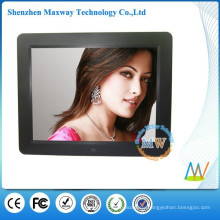Slim type 12 inch with MP3 music video digital photo frame