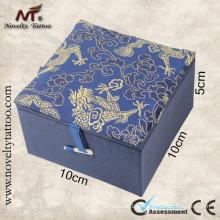 N201070B caixas de máquina de tatuagem azul