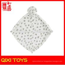 Nueva manta animal de la felpa del bebé de la cabeza suave del perro del diseño 2014