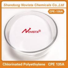 CPE 135A Polietileno clorado para tubos de productos espumosos