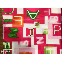 Горячие продажи индивидуальной моды дизайн печатной ткани
