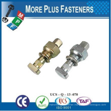 Made in Taiwan Custom Made Special According to Customer Drawing Wheel Bolt with Wheel Nut