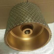 menor preço de alta qualidade diamante tambor de roda abrasiva para o revestimento de freio
