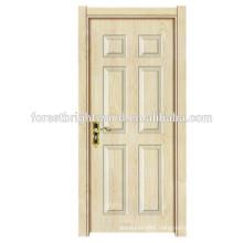 Wooden Doors Design Modern Melamine Swing Interior Door