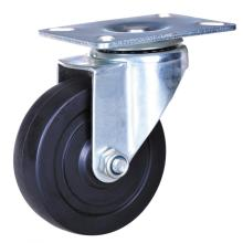 3-дюймовый резиновые колеса световой обязанность ролики