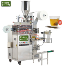 Automatic double chamber tea bag packaging machine
