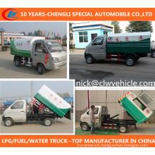 Changan Rubbish Truck 4X2 Garbage Truck Small Gasoline Rubbish Truck
