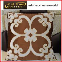 Bordados decorativos almofada de veludo de moda travesseiro (EDM0331)