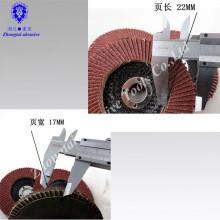 Schleifklappe für Inox 22 mm x 115 mm