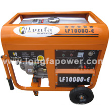7.5/ 8.2kVA 220V South Africa Lonfa Portable Home Petrol Generator