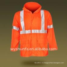 Hi visibility Предупреждение Отражательная ANSI EN471 Куртка
