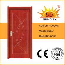 Interior Design Honeycomb Paper Wood Door (SC-W106)