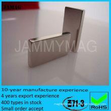 Imán del bloque de la tierra rara de JML15W8T2 para la venta