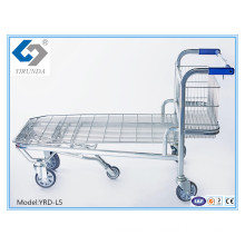 Multifunction Hand Trolley for Heavy-Duty Warehouse with 5 Wheels