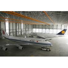 Bogen-Stahl-Raum-Rahmen-Dachflugzeug-Hangar-Halle