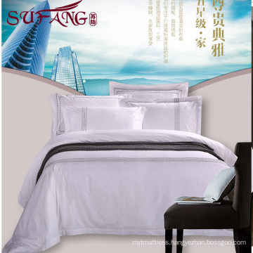 2017 Luxury 5 star hotel Factory Directly High 100%cotton 60s/40s/80s embroidery sets