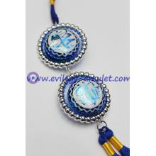 Islamic Acrylic Hanging Car Decoration Round Wholesale