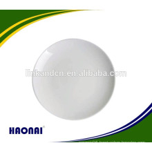 Factory selling round fine china plates wholesale for restaurant